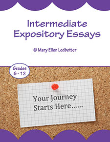 Intermediate Expository Essays For Grades 6-12