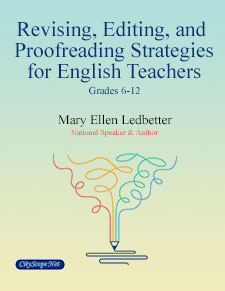 Revising, Editing and Proofreading Strategies for English Teachers - E-Book