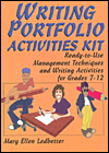 writing portfolio activities kit